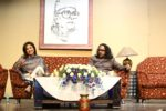 Sangeeta Bedi and Obaid Azam Azmi anchoring Rooh-e-Majrooh evening