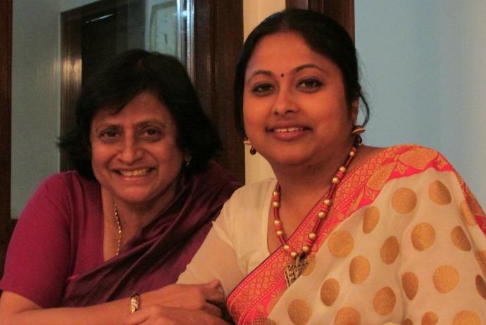 authors Dr. Santosh Bakaya with Lopa Banerjee