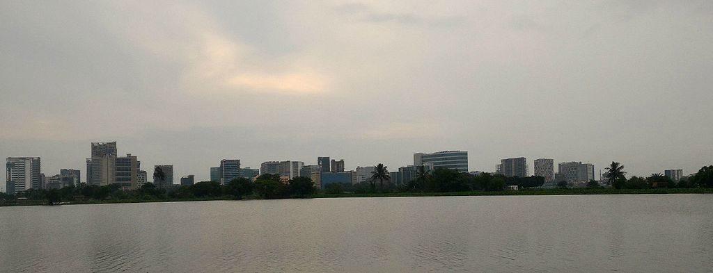 The modern day Calcutta skyline (Pic: Wikimedia CC0)