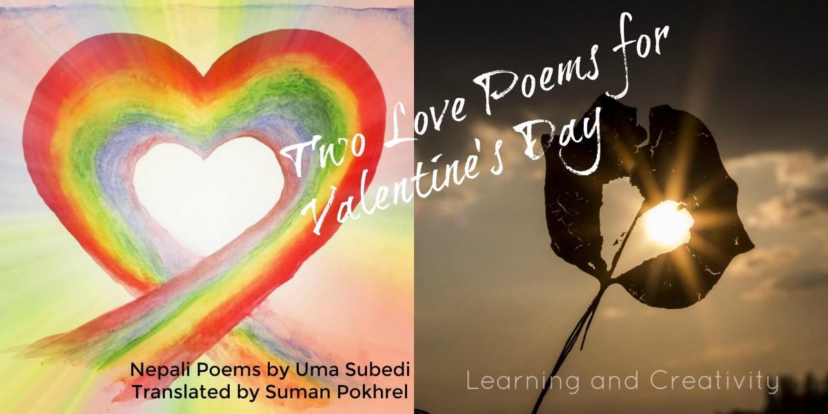 Nepali Love Poems by Uma Subedi for Valentine's Day