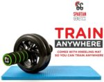 Dual Ab Roller Wheel - Compact Portable Abdominal Workout Fitness Exerciser