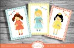 Adorable Printable Postcards for Your Scrapbooking, Wall Decor