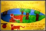 save tiger art by kids