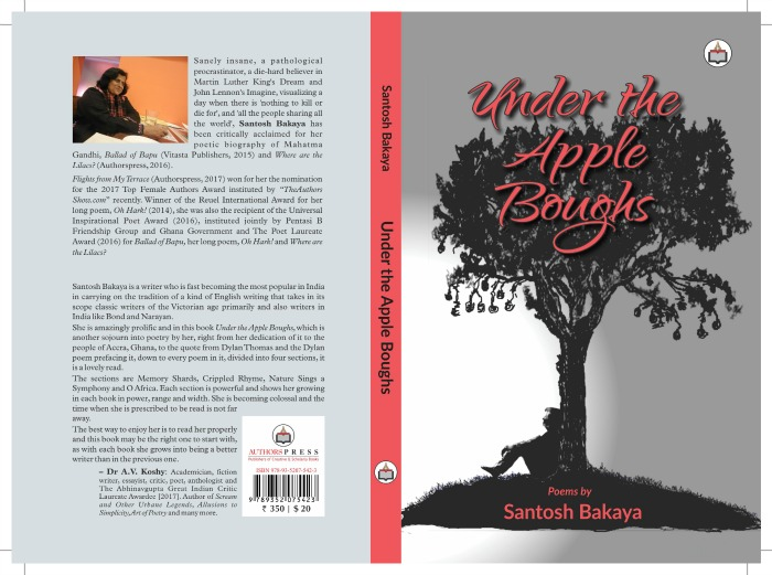 "Image result for Santosh Bakaya's ""Under the Apple Boughs"""