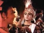 Arjun!! Are you Arjun, the warrior prince? (Pic: Chitrangada in the film Dadar Kirti)