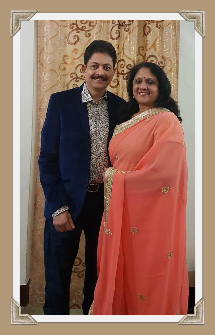 Ramendra Kumar and Madhavi