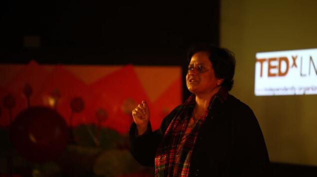 Dr Santosh Bakaya at the TEDx Talks