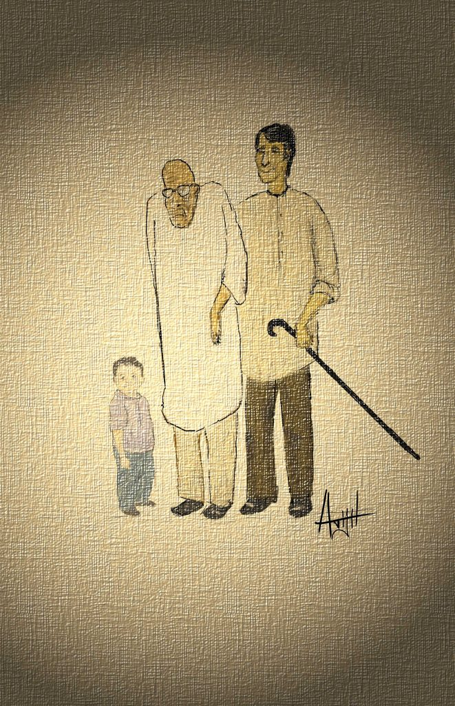 The Old Man and The Ghat (Bring Out the Tall Tales short stories)