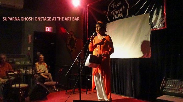 Suparna Ghosh, artist, author