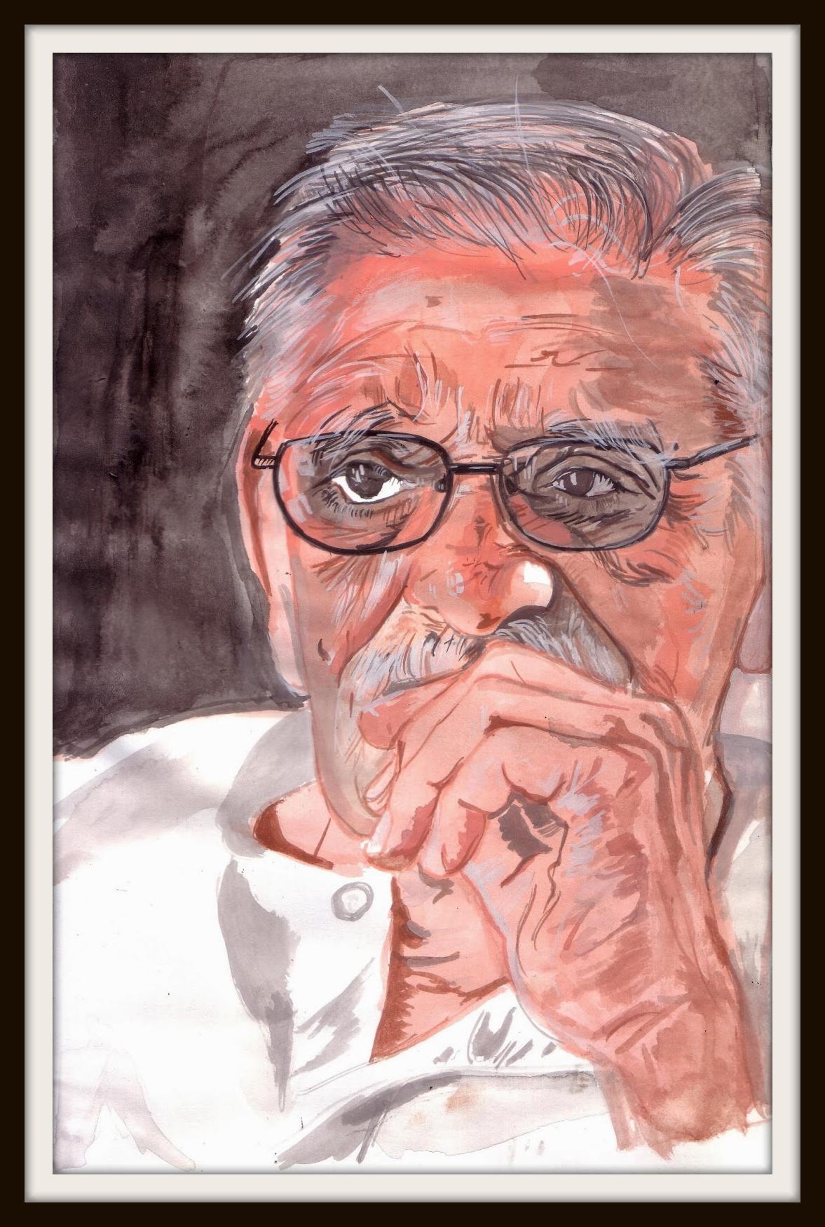 Gulzar Sahab portrait