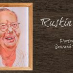 Ruskin Bond portrait
