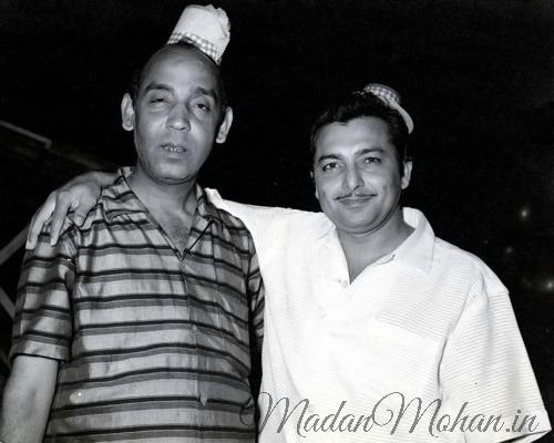 Rajinder Krishan and Madan Mohan