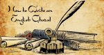 How to Write an English Ghazal
