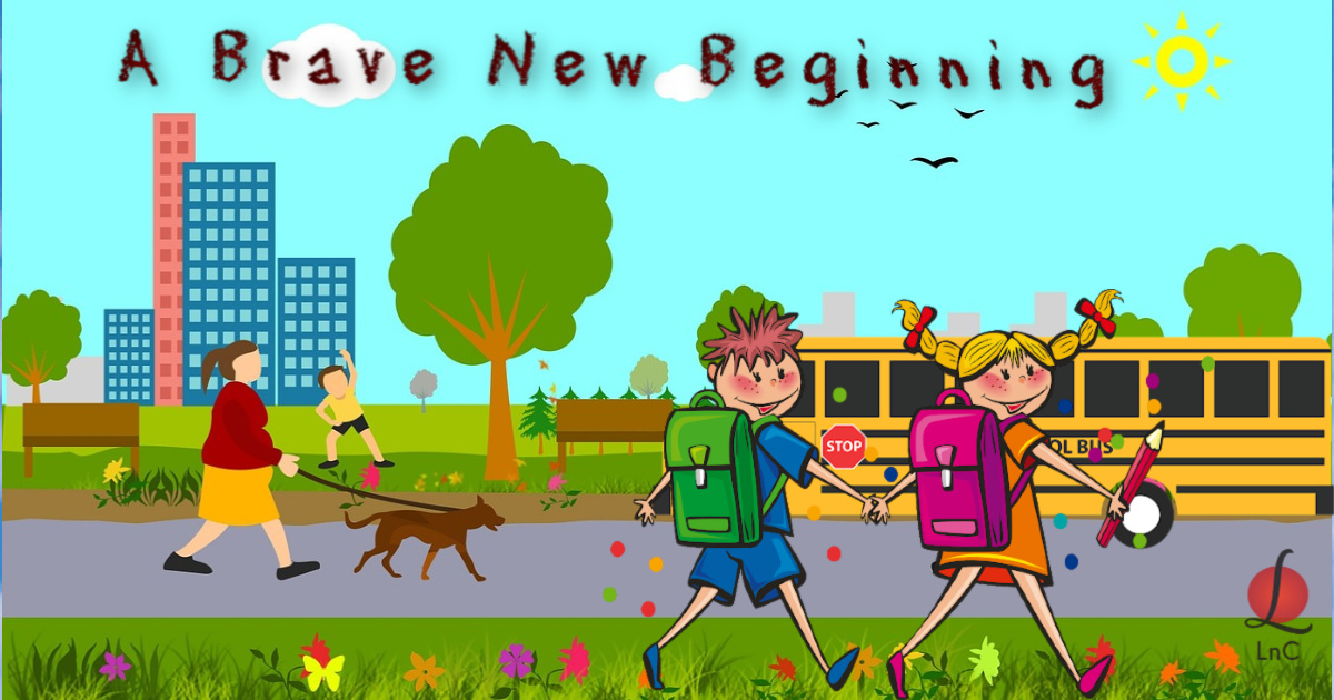 82 A Brave New Beginning morning meanderings