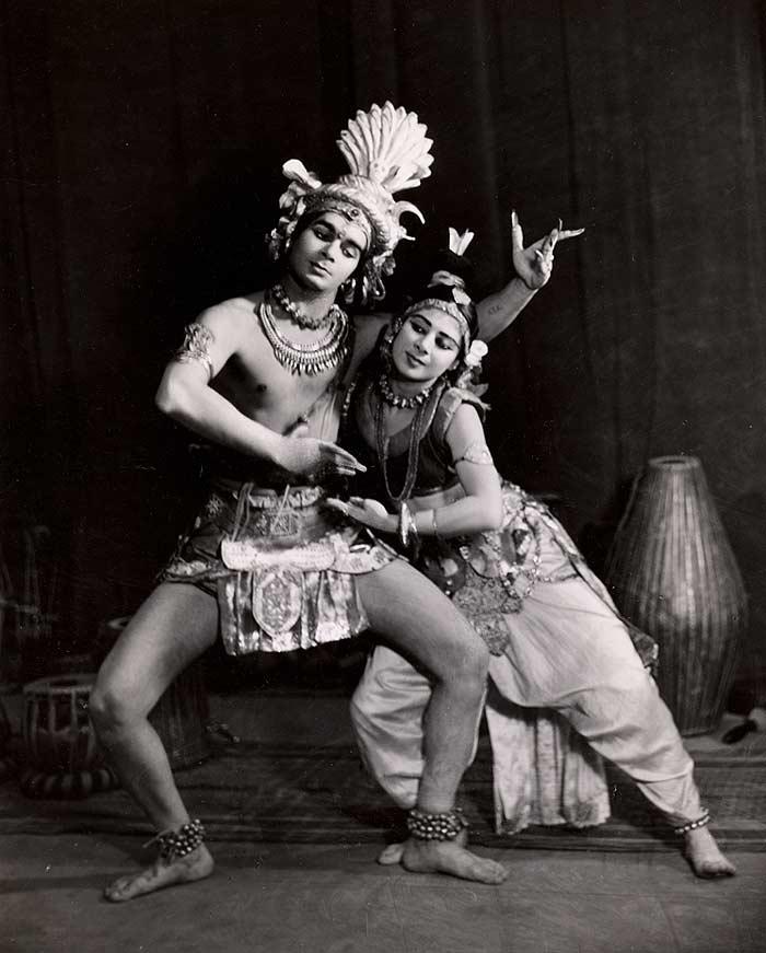 Uday Shankar and Simkie
