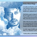 Elegy to Irrfan Khan