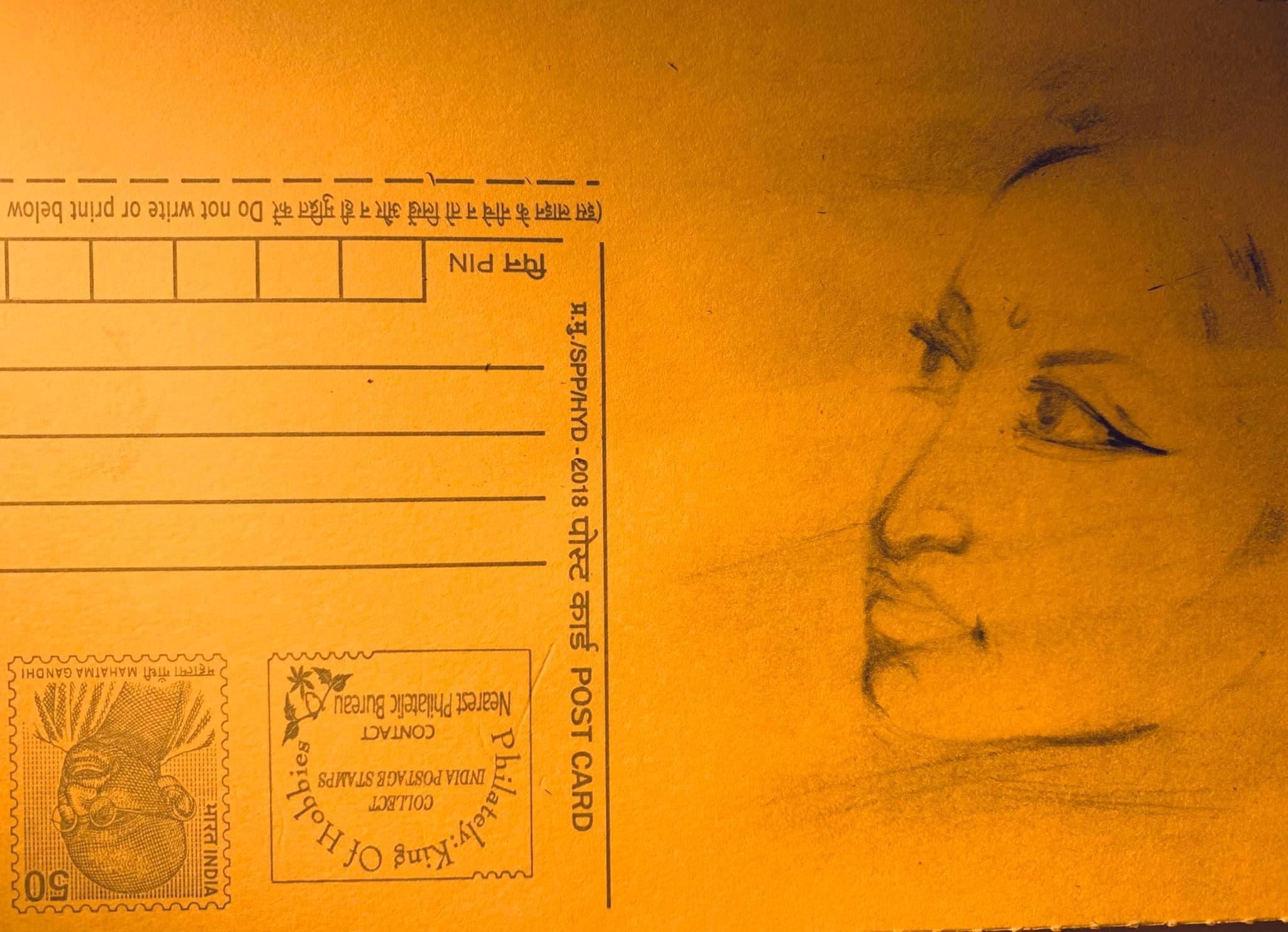 swapna mashi artwork by Piu Mahapatra