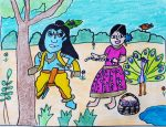 Art by 10 year old, art for kids