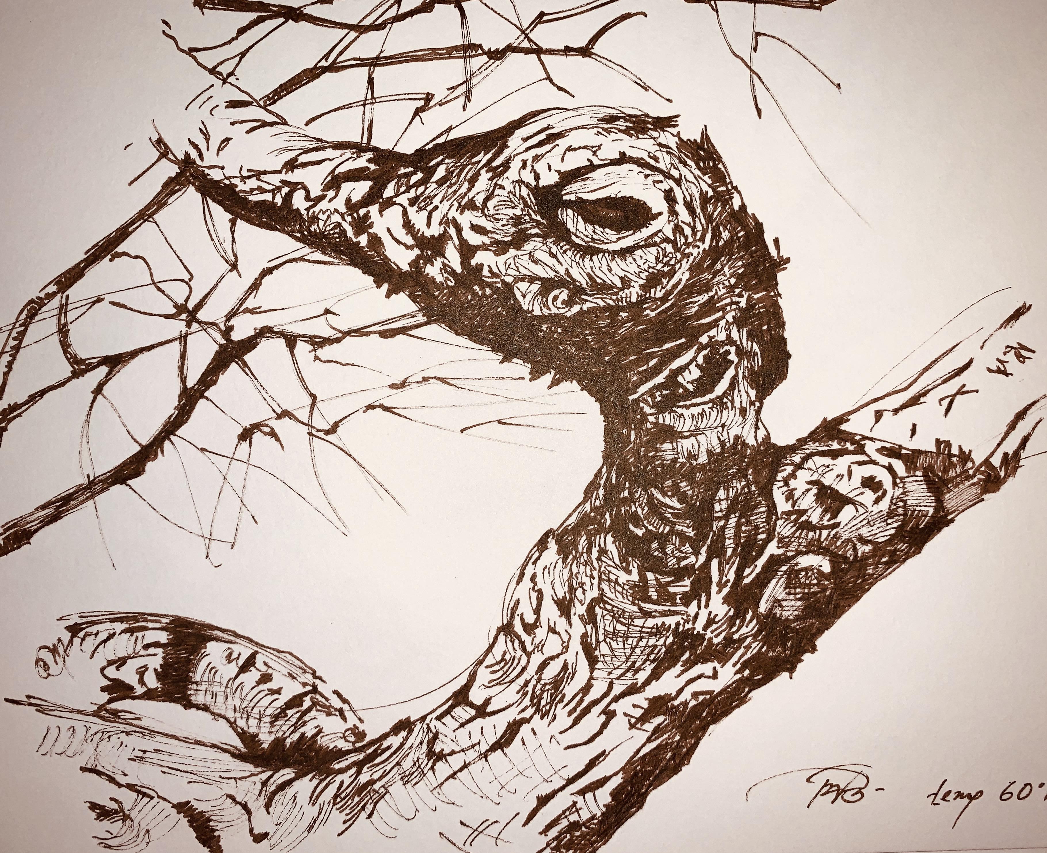 Trees Rooted-artwork Piu Mahapatra