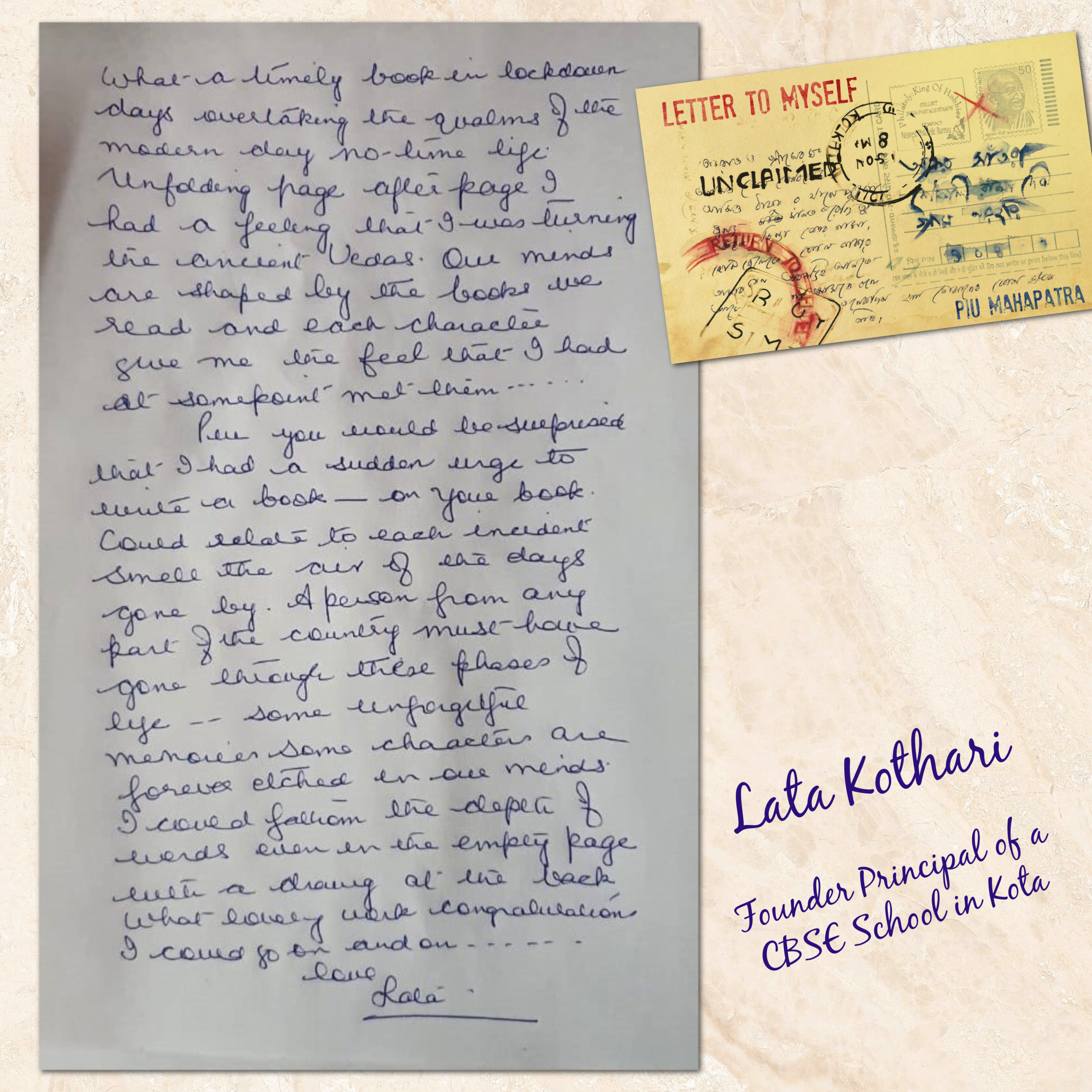 letter to myself review