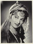 A personally autographed picture of Suraiya